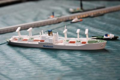 Matson Lines Mariner Class Cargo Ship Unboxed