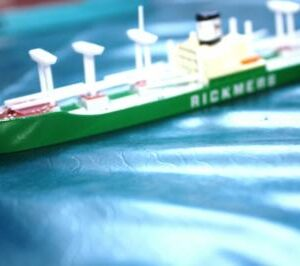 Rickmers livery Cargo ship from Triang Minic Ships